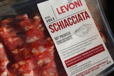 Salami Schiacciata Piccante 80g – Levoni