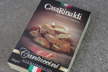 Cantucci alle Mandorle 150g – Casa Rinaldi 25% Mandeln!