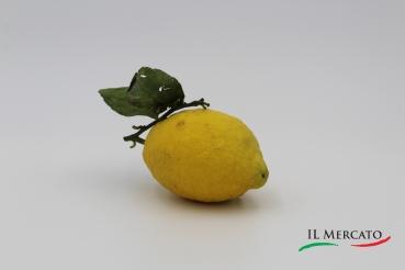Amalfi Zitrone mit Blatt - 1 Stück